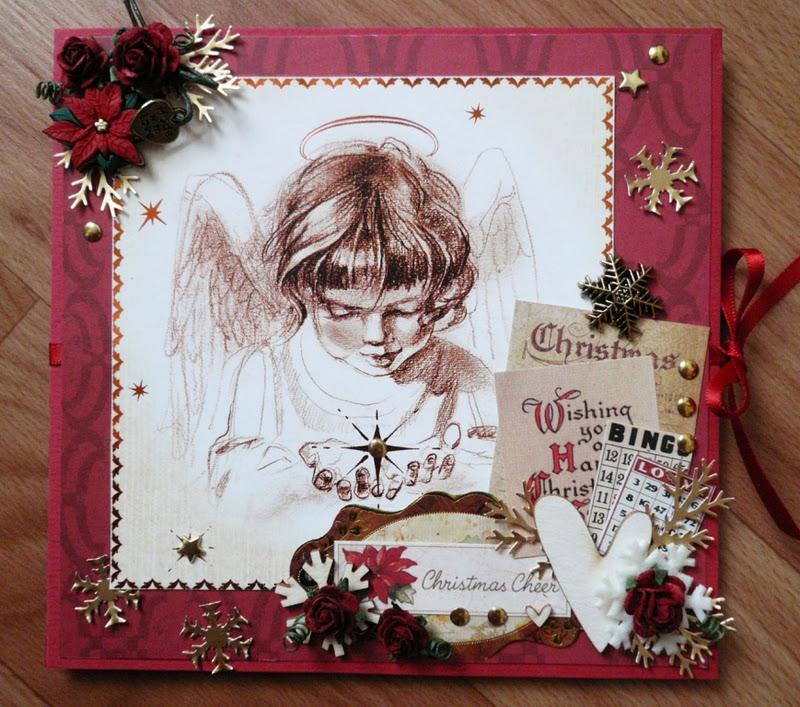 Рождественские открытки скрапбукинг своими руками