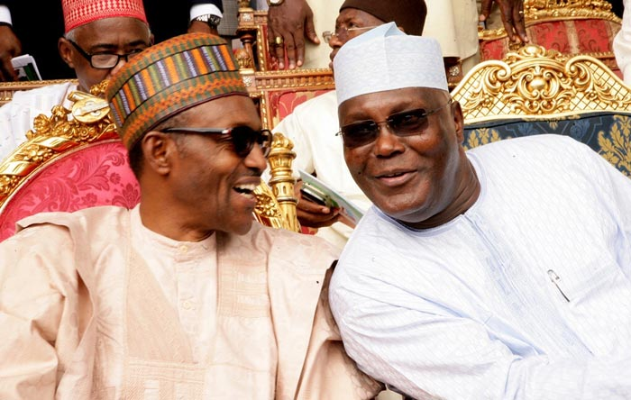 "Atiku shades Buhari: ""Nigeria ended up with accidental leadership"""