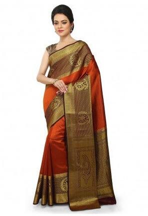 Bengaluru Handwoven Silk Saree