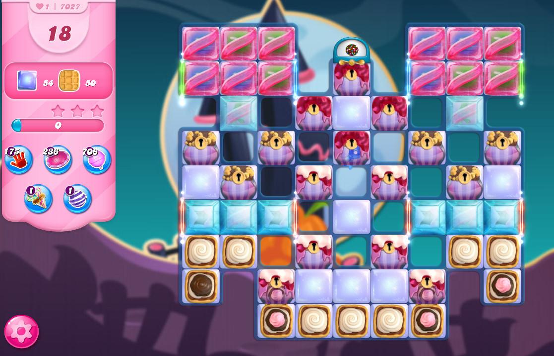Candy Crush Saga level 7027