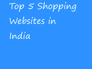 list of 5 most shopping website