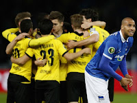 Hasil Skor Semifinal DFB Pokal Hertha Berlin vs Borussia Dortmund 0-3