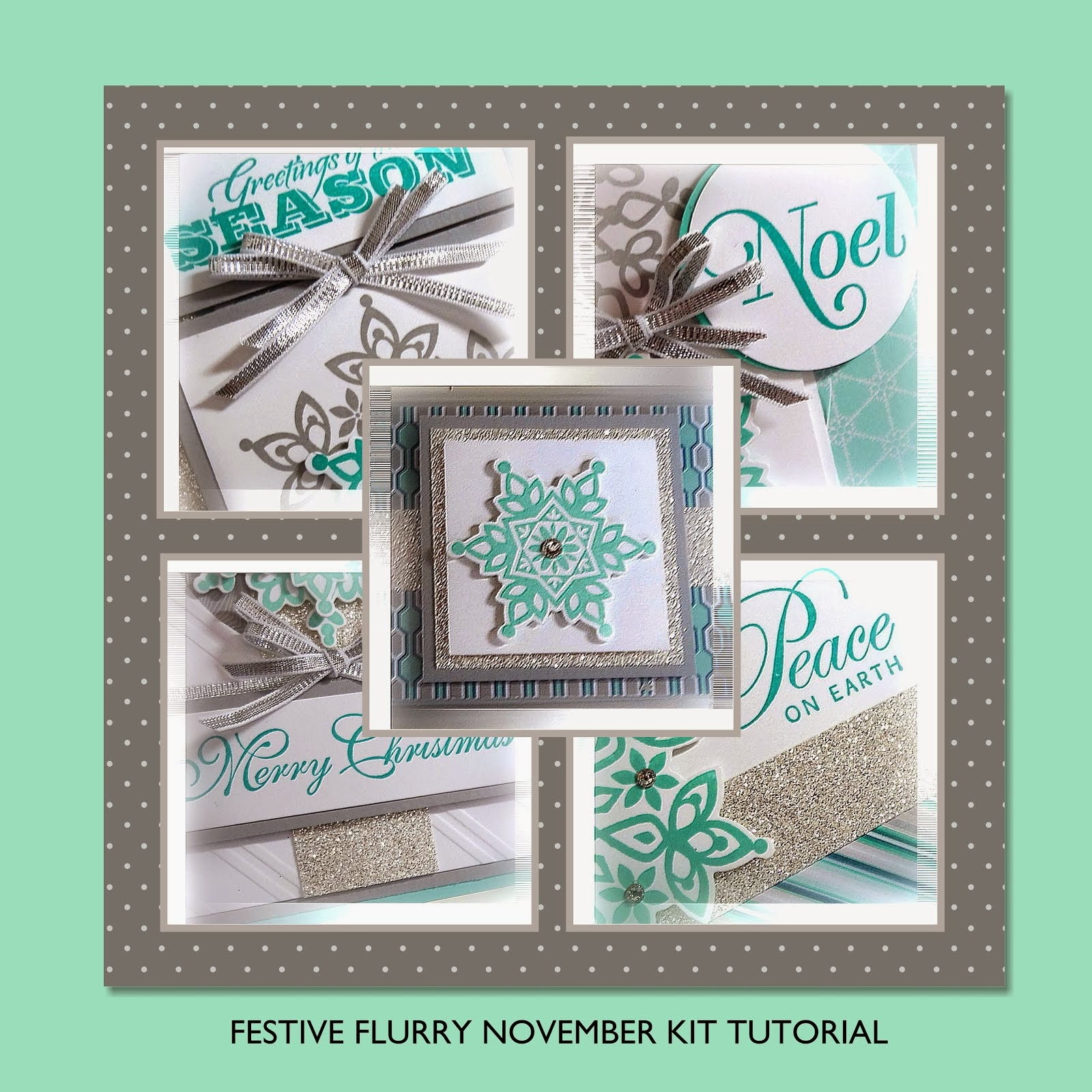 Festive Flurry November Kit Tutorial