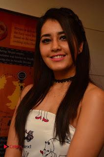 Raashi Khanna Stills at Biryani's Restaurant Launch in Gachibowli