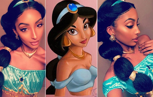nigerian model disney princess
