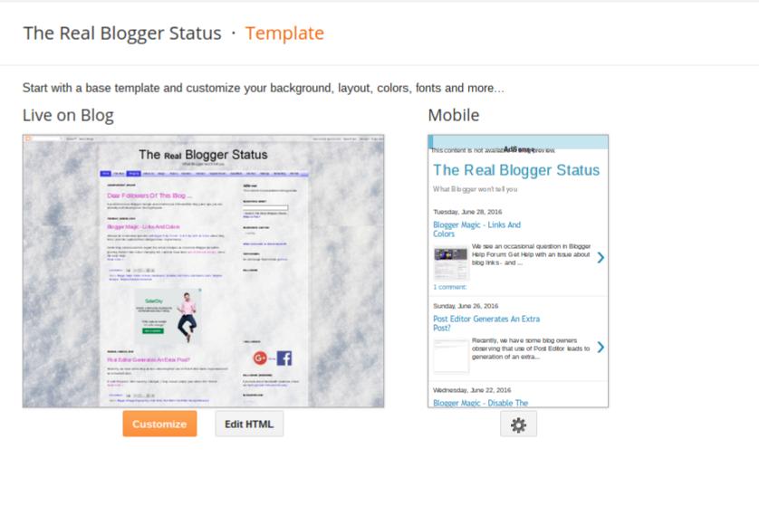 Blogger Magic - Third Party Templates