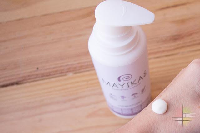 Hidratono: loción corporal hidratante y tonificante de Máyikas.