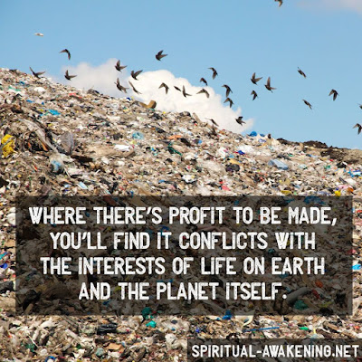 Saving the earth and profit
