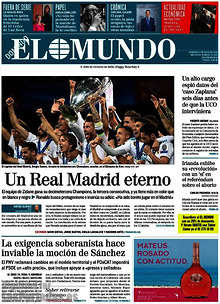 Real Madrid gana su 13 Champions