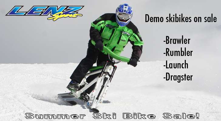 Ski Bike For Sale >> A Colorado Skibiker Goes Skibiking Looking For A Used Lenz Sport