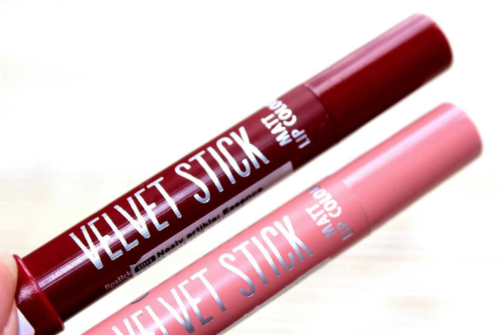 ESSENCE velvet stick Matt lip colour