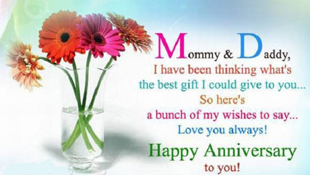 Happy Wedding Anniversary Wishes   Quotes   Messages & Images for Parents
