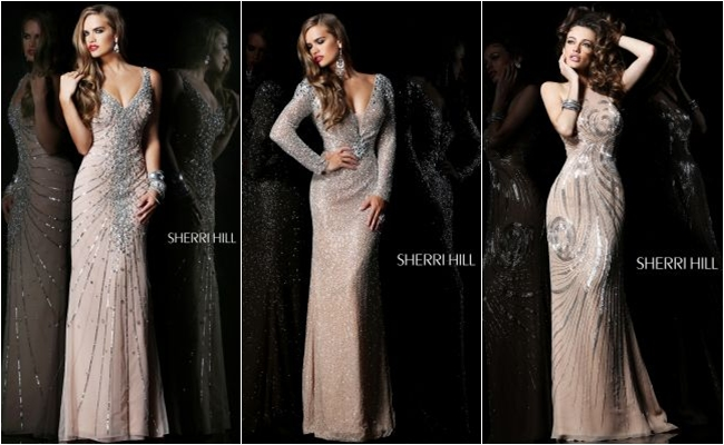 Sherri Hill beautiful evening dresses