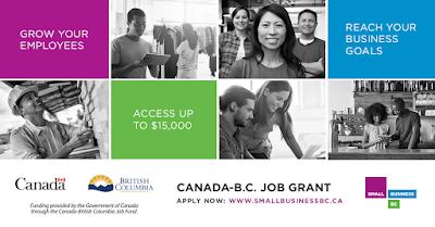 Canada-B.C. Job Grant