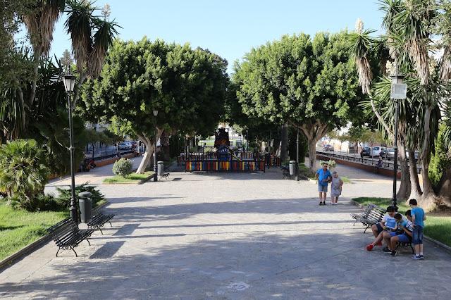 Parque General Lobo en San Fernando