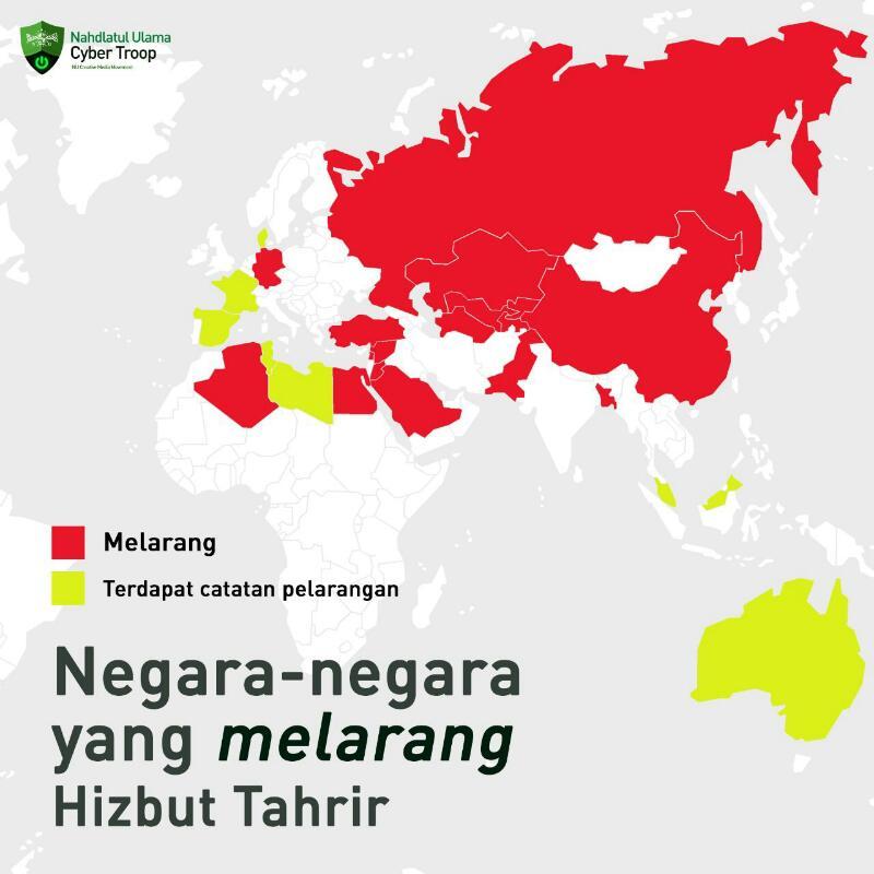 Hizbut Tahrir Di Mana-mana Sudah Di Larang, Cuma di Indonesia Dibiarkan Merajalela
