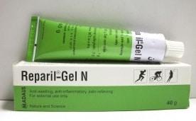 دواعى إستعمال ريبايل جيل ن Reparil Gel N لعلاج الألتهابات