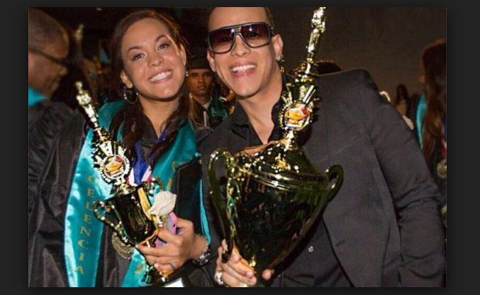 Daddy Yankee celebrates