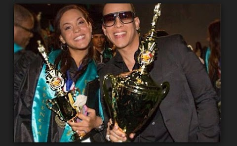 Daddy Yankee celebrates the graduation of his daughter