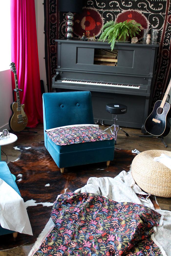 slipcover for armless slipper chair stair lift medicare the shingled house