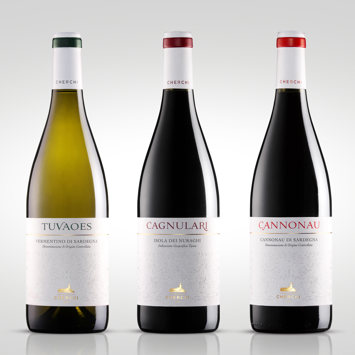 Cherchi Wine On Packaging Of The World