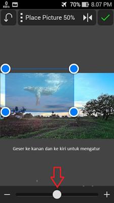 Cara membuat Background efek binatang di Android