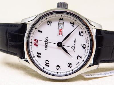 Cocok untuk disimpan dan dikoleksi jam tangan Automatic dengan dial putih  bersih 6778e03c1a