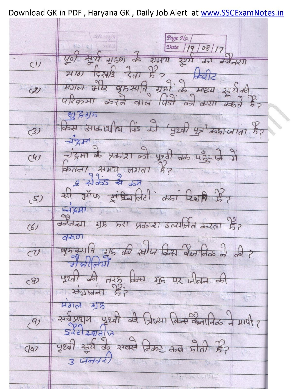 Haryana G.k Pdf