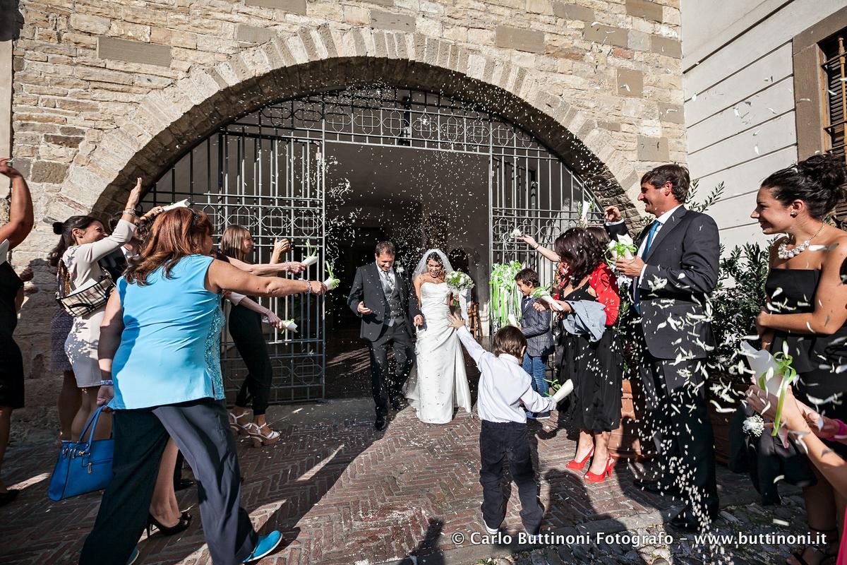 Fotografo matrimonio città alta Bergamo chiesa del pozzo bianco