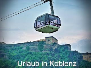 Urlaub Koblenz, Seilbahn zur Festung Ehrenbreitstein