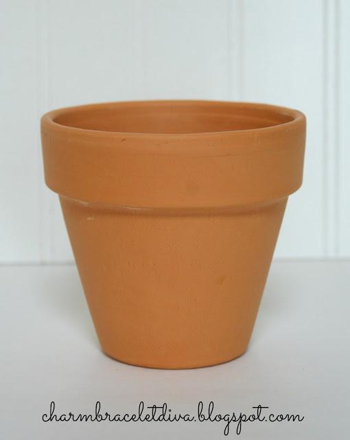 terra cotta clay pot