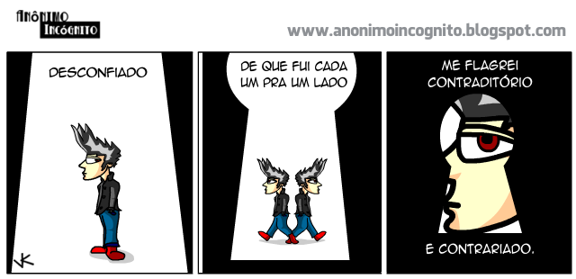 anonimo incognito: flagrante