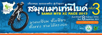 Samui MTB XC race, 8th September 2013