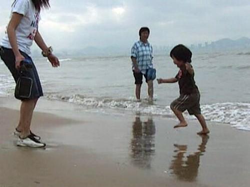 ハイナン島 三亜 海遊び
