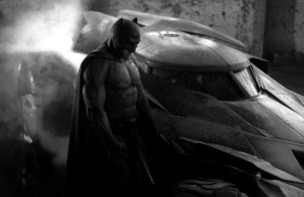 Ben Affleck as Batman first picture photo reaction Dawn of Justice