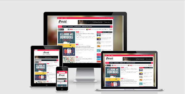 Best Seo Responsive Blogger Template