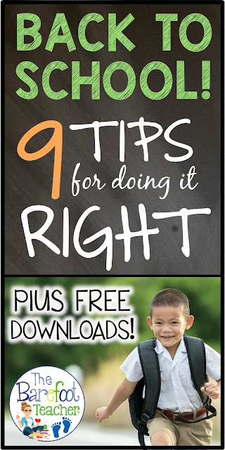 Back to school is always a stressful time for teachers and students, but it doesn't have to be! I'm going to give you nine tips on how to do it right. Plus, I'll share many activities and resources that you can download for FREE to use with your Preschool, Kindergarten, or First Grade kiddos. #backtoschool #kindergarten #firstgrade #freeprintable #freebie #freedownload #backtoschoolactivities #secondgrade #freedownloads #activitiesforkids