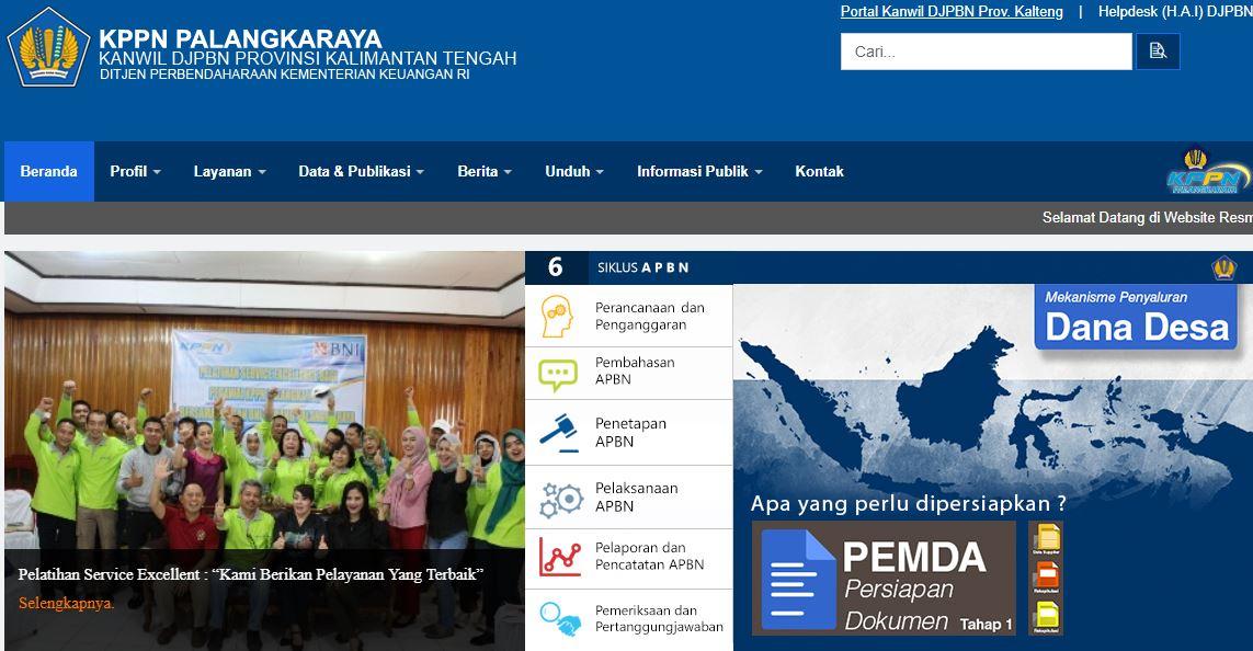 Alamat Lengkap Kantor KPPN Di Kalimantan Tengah