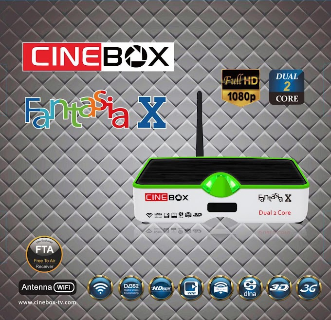 CINEBOX FANTASIA X NOVA ATUALIZAÇÃO - 31/07/2018