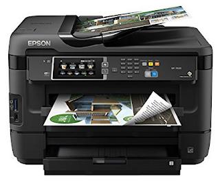 Epson WorkForce WF-7610 Wireless Printer Setup