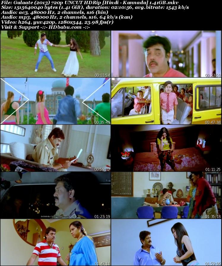 Galaate Hindi Dual Audio Full Movie Download, Ek Aur Yudh 2017 Hindi Dubbed Full Movie Download Free, Galaate 2013 kannada Movie in Hindi Dubbed UnCut 720p HDRip 1GB Hindi Dual Audio Telugu 480p HDRip Free Download MKV Mp4 HD