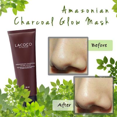 Manfaat Lacoco Amazonian Charcoal Glow Mask Nasa
