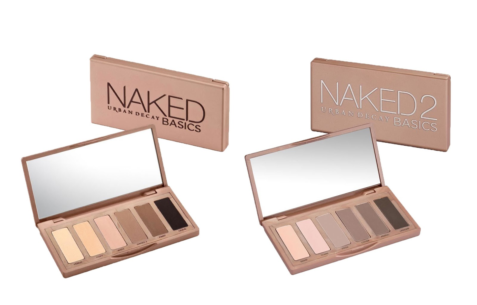 Dupes palettes Naked Basics 1 & 2 Urban Decay