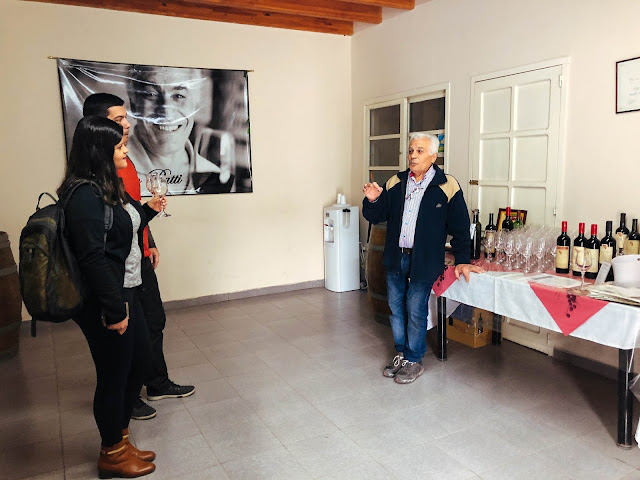 Carmelo Patti Bodega - 4 días en Mendoza, itinerario completo por día