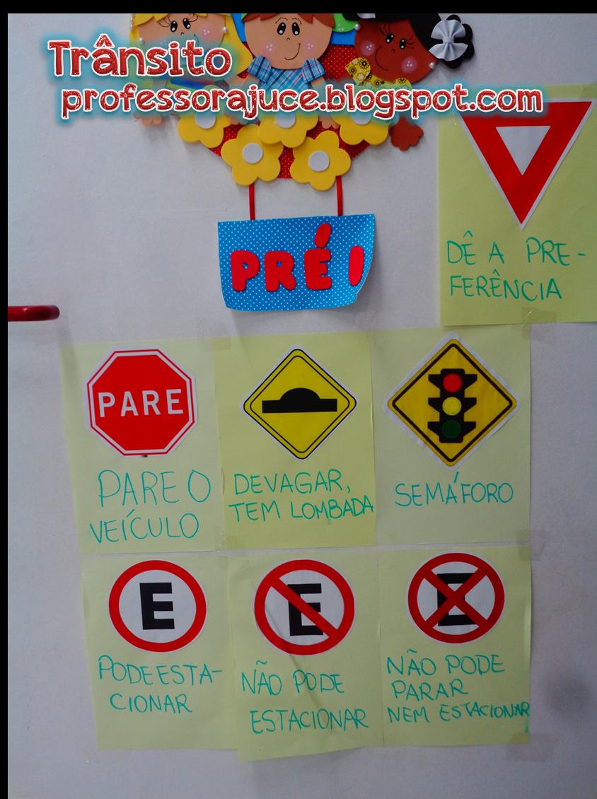 Extremamente Professora Juce: Plano de Aula para Educação Infantil - Trânsito RK57