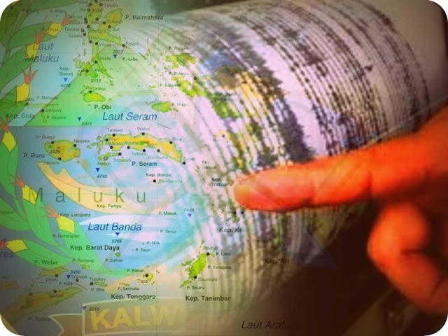 Gempa 5,2 SR Guncang Timur Laut MBD, Tidak Berpotensi Tsunami