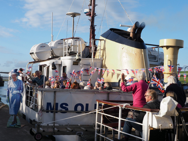 Celebrate the Summer Solstice in aid of the Northam Care Trust aboard the MS Oldenburg