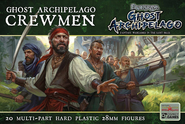 Osprey Games: New Frostgrave - Ghost Archipelago - Fantasy Wargames in the Lost Isles Miniature Tabletop Game