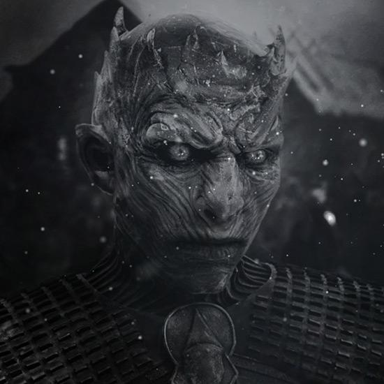 Game of Thrones - Night King Black Wallpaper Engine