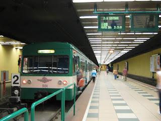 Train from Budapest Batthyány tér
